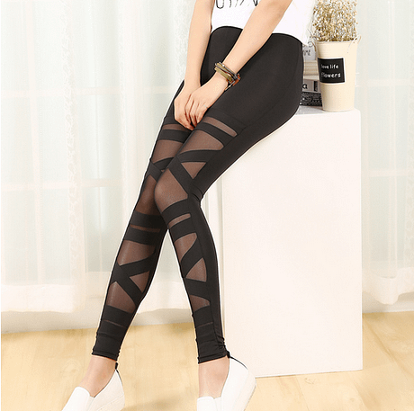 leggings-gauze-bandage-stitching