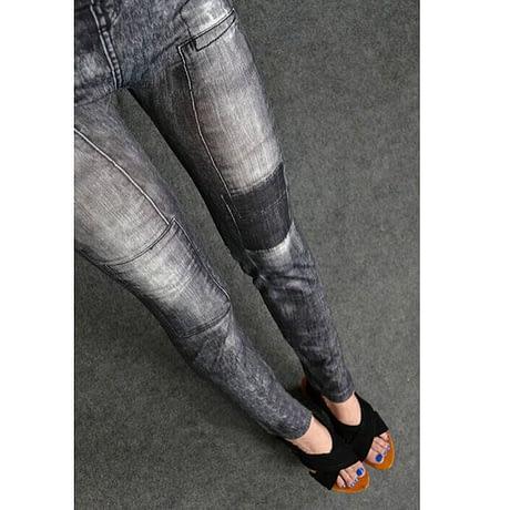 Women's Denim Leggings,Thin Jeans, Casual Denim Leggings 3