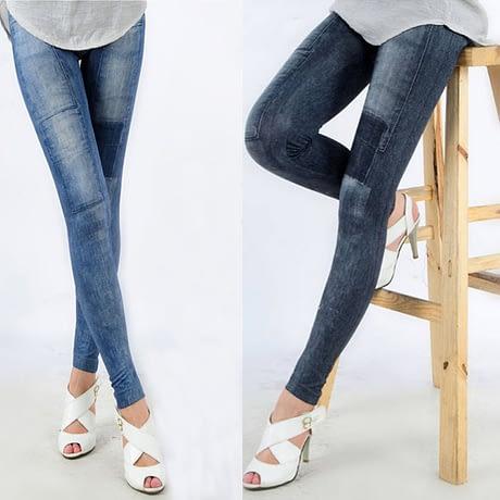 Women's Denim Leggings,Thin Jeans, Casual Denim Leggings 5