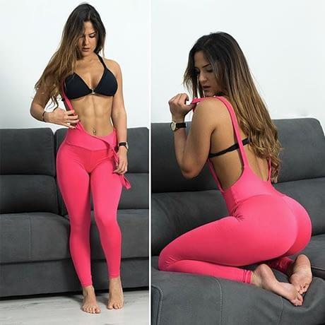Women's Suspender Leggings, Sexy Push Up, High Elastic Legging, Workout Woman's Leggings