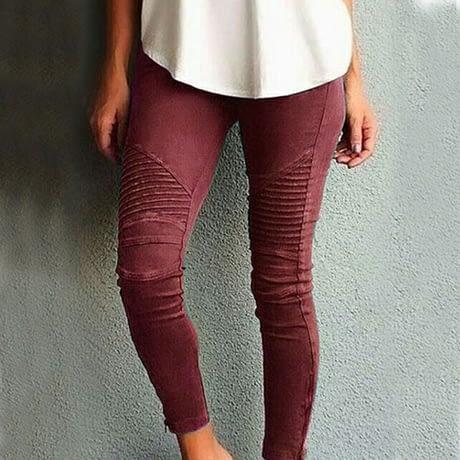 Fashion Plus Size Women's Leggings Stretch Trousers,  5 Colors 3