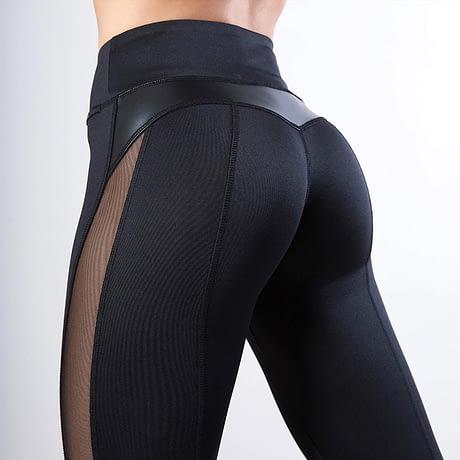 SVOKOR-Mesh-Women-Fitness-Leggings-Black-Leather-Stitching-Mesh-High-Waist-Leggings-Polyester-Hip-Training-Sexy-1.jpg