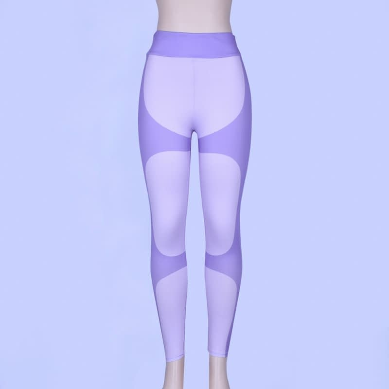 Patchwork Heart Leggings, Women's Activewear Push Up Legging 17