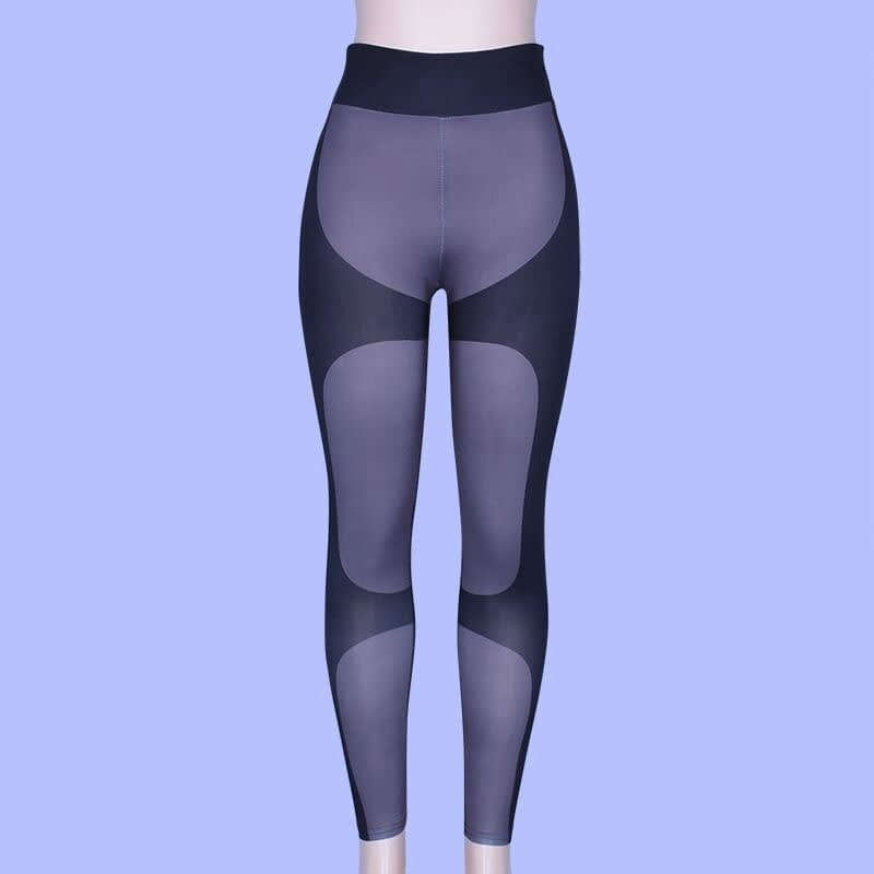 Patchwork Heart Leggings, Women's Activewear Push Up Legging 20