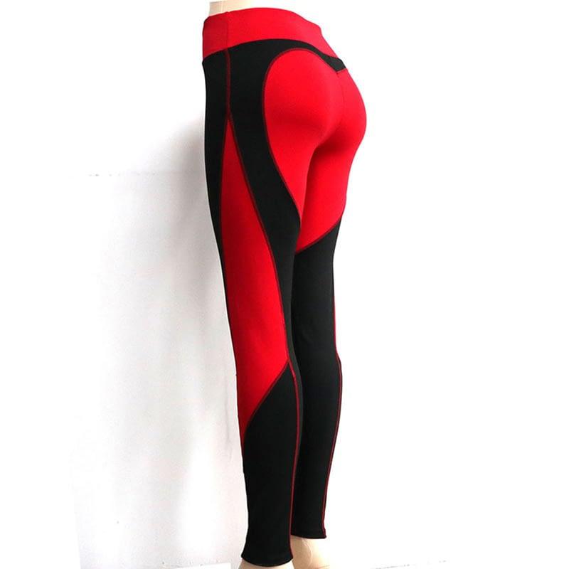 Heart Shape Love Leggings, Women's Sporting High Waist Fitness Leggings With Pocket 30