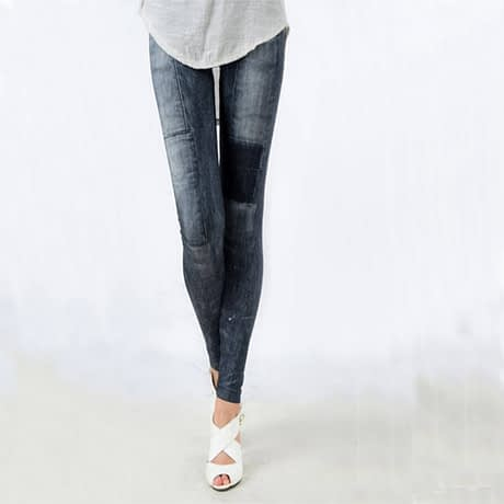 Women's Denim Leggings,Thin Jeans, Casual Denim Leggings 1